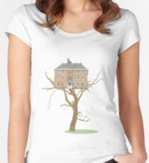 tree house Women's Fitted Scoop T-Shirt