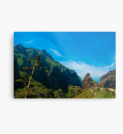 Masca - the most beautiful place on earth Metal Print