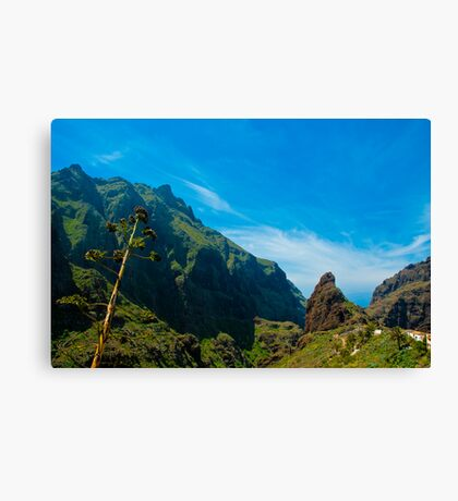 Masca - the most beautiful place on earth Canvas Print