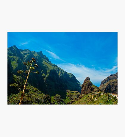 Masca - the most beautiful place on earth Photographic Print