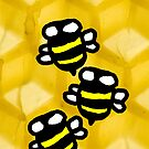 Busy Bees by AHakir