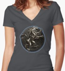 The Elder Scrolls Online-Daggerfall Covenant  Women's Fitted V-Neck T-Shirt