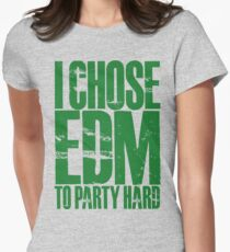 I Chose EDM To Party Hard (green) T-Shirt