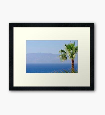 La Gomera Framed Print