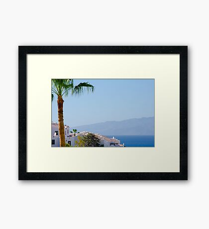 Los Gigantes, Tenerife Framed Print