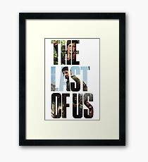 Tlou (collage) Framed Print