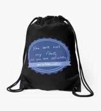 Problematic Awards Drawstring Bag