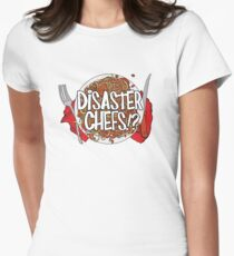 Disaster Chefs Women's Fitted T-Shirt