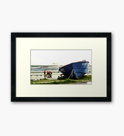 Out With The Old - Rework Framed Print