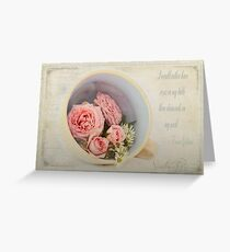 Cup of Diamonds  Greeting Card
