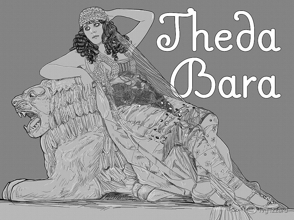 Theda Bara by Ivy Izzard