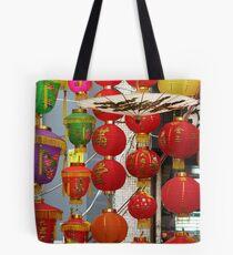 Chinese Lanterns, Ladies Market, Hong Kong Tote Bag