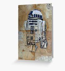 astromech droid Greeting Card