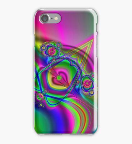 Hearts and Swirls iPhone Case/Skin