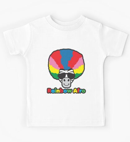 Rainbow Afro Kids Clothes