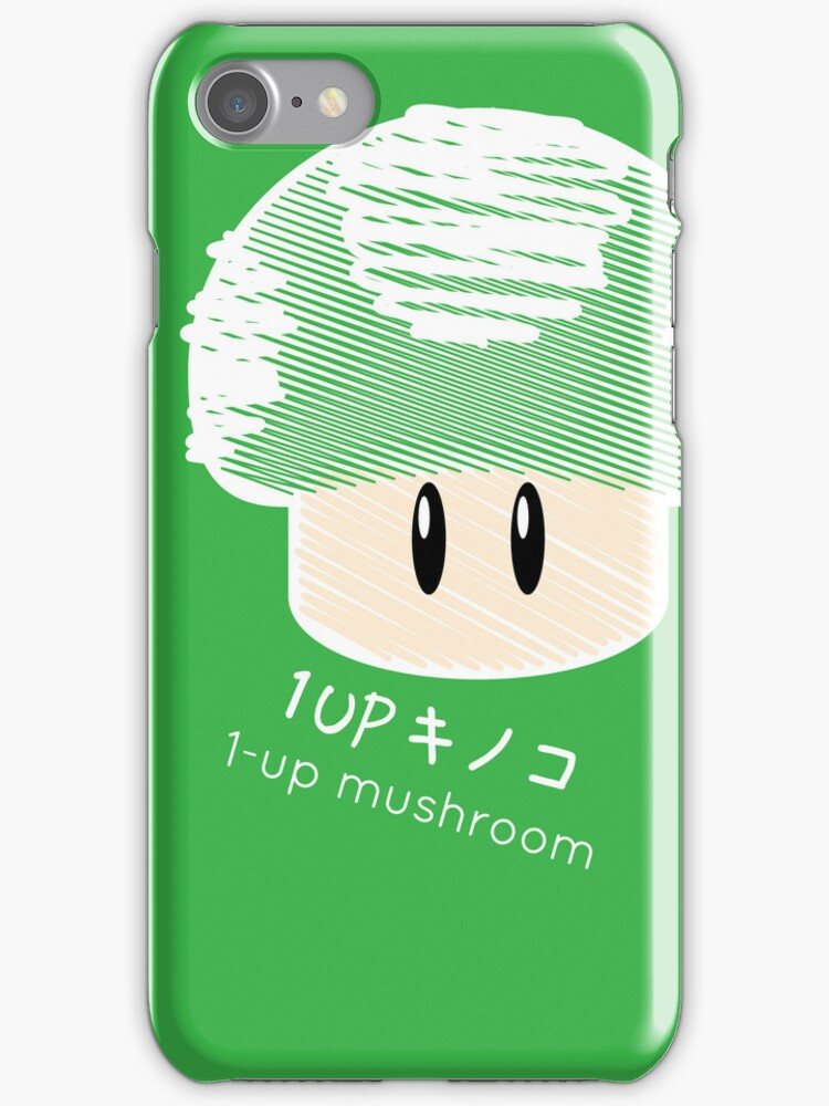 1-UP mushroom -scribble- by Steve Landaverde