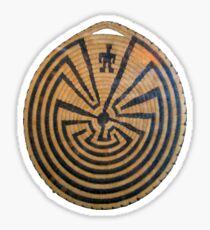 Indigenous Maze Sticker