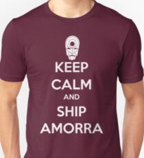 Keep Calm and Ship Amorra! T-Shirt