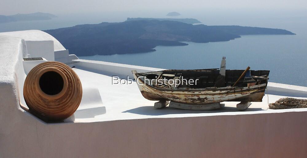 View At Santorini by Bob Christopher