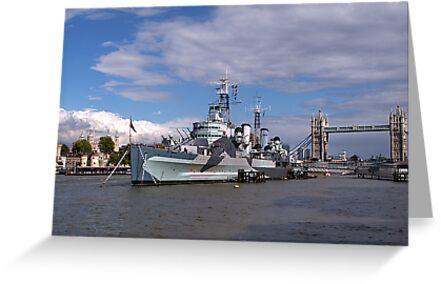 HMS Belfast by shalisa