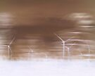 Ghostly wind turbines by shalisa