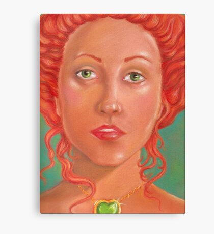 Looking Oh So Romantic & Fairytale Princess, Now Where's That Damn Prince? Canvas Print