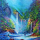 Misty Waterfall (river of life) by jyruff