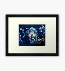 Zombie George A. Romero Framed Print