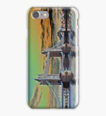 Solarised Tower Bridge iPhone Case/Skin