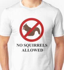 NO SQUIRRELS ALLOWED - Teesside Drifting T-Shirt