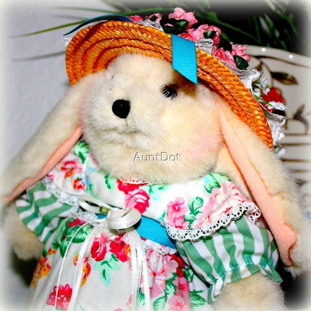 Mother Rabbit's Best Hat by AuntDot
