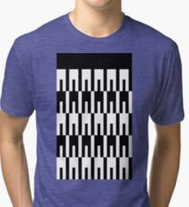 Intertwined Pegs Tri-blend T-Shirt