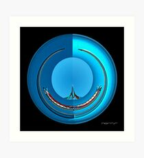 CARZ-Abstract/FOUR Art Print