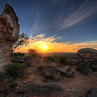 Sculptured Sunset by Jason Ruth