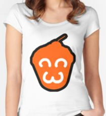 Happy Cupcake Women's Fitted Scoop T-Shirt