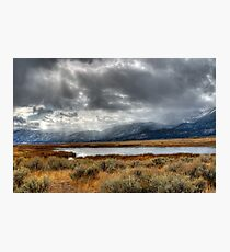 Scenic Washoe Valley Photographic Print