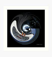 CARZ-Abstract/FIVE Art Print