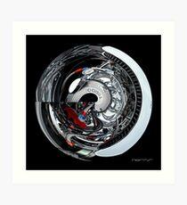 CARZ-Abstract/SEVEN Art Print