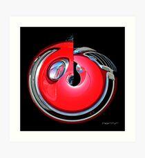 CARZ-Abstract/FOURTEEN Art Print