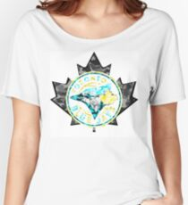BLUE JAYS WHITE Women's Relaxed Fit T-Shirt
