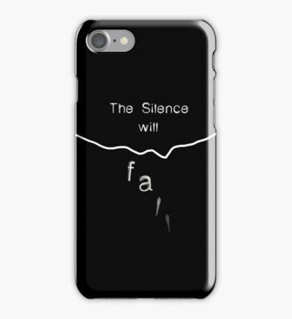 Silence... iPhone Case/Skin