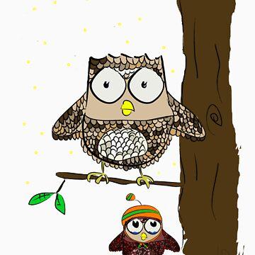 owl night by LesterBear