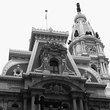 Philadelphia City Hall - Billy Penn by RustedStudio
