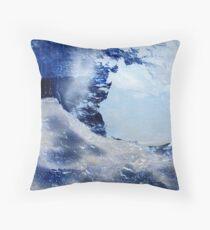 Through The Ice Throw Pillow
