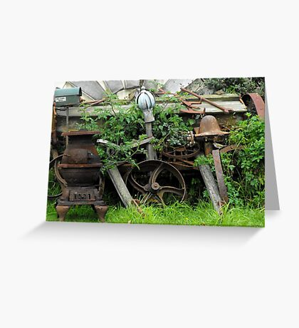 Rusty Relics Greeting Card