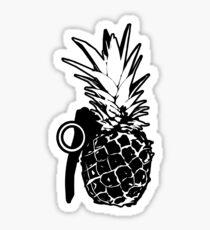 Pineapple Grenade Sticker