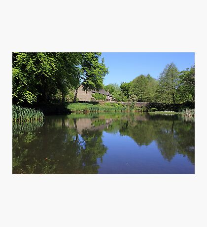 The Lower Pond Lumsdale Photographic Print