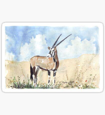 Rapier horns - Gemsbuck Sticker