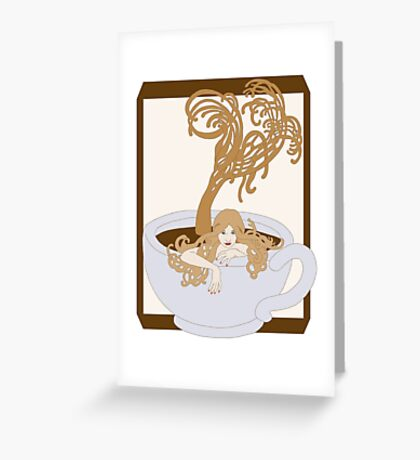 Swimming In The Java Seas Greeting Card