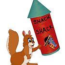 Snack Shack by redqueenself